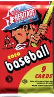 2020 Topps Heritage High Number Baseball Cards Hobby Pack