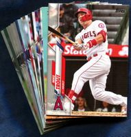 2020 Topps Los Angeles Angels Baseball Cards Team Set