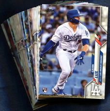 2020 Topps Los Angeles Dodgers Baseball Cards Team Set