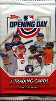 2020 Topps Opening Day Baseball Cards Pack