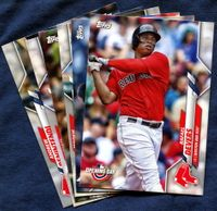 2020 Topps Opening Day Boston Red Sox Baseball Cards Team Set