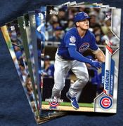 2020 Topps Opening Day Chicago Cubs Baseball Cards Team Set