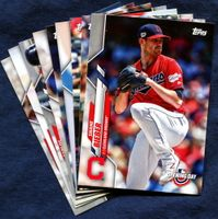 2020 Topps Opening Day Cleveland Indians Baseball Cards Team Set