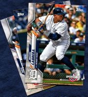 2020 Topps Opening Day Detroit Tigers Baseball Cards Team Set