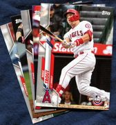 2020 Topps Opening Day Los Angeles Angels Baseball Cards Team Set