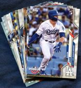 2020 Topps Opening Day Los Angeles Dodgers Baseball Cards Team Set