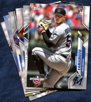 2020 Topps Opening Day Miami Marlins Baseball Cards Team Set