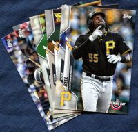 2020 Topps Opening Day Pittsburgh Pirates Baseball Cards Team Set