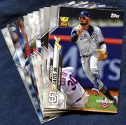 2020 Topps Opening Day San Diego Padres Baseball Cards Team Set