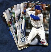 2020 Topps Opening Day Seattle Mariners Baseball Cards Team Set