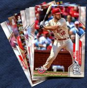 2020 Topps Opening Day St. Louis Cardinals Baseball Cards Team Set