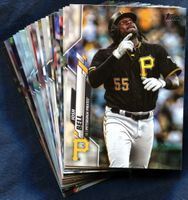 2020 Topps Pittsburgh Pirates Baseball Cards Team Set