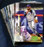 2020 Topps San Diego Padres Baseball Cards Team Set