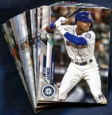 2020 Topps Seattle Mariners Baseball Cards Team Set