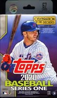 2020 Topps Series 1 Baseball Cards Hanger Box