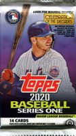 2020 Topps Series 1 Baseball Cards Hobby Pack