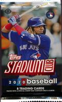 2020 Topps Stadium Club Baseball Cards Hobby Pack