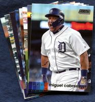 2020 Topps Stadium Club Detroit Tigers Baseball Cards Team Set