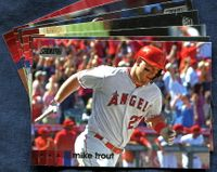 2020 Topps Stadium Club Los Angeles Angels Baseball Cards Team Set