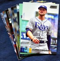 2020 Topps Stadium Club Tampa Bay Rays Baseball Cards Team Set