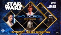 2020 Topps Star Wars Holocron Series Non-Sports Cards Hobby Box