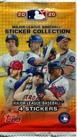 2020 Topps Sticker Collection Pack
