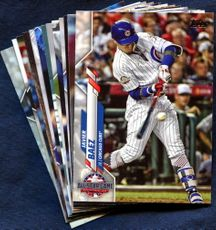 2020 Topps Update Chicago Cubs Baseball Cards Team Set
