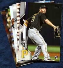 2020 Topps Update Pittsburgh Pirates Baseball Cards Team Set