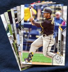 2020 Topps Update San Diego Padres Baseball Cards Team Set