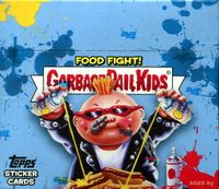2021 Garbage Pail Kids Series 1 Food Fight Non-Sports Sticker Cards Box