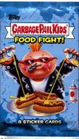 2021 Garbage Pail Kids Series 1 Food Fight Non-Sports Sticker Cards Pack