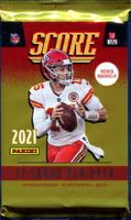 2021 Score Football Cards Pack From Blaster