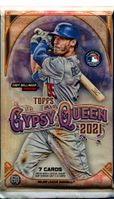 2021 Topps Gypsy Queen Baseball Cards Retail Pack