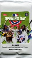 2021 Topps Opening Day Baseball Cards Pack