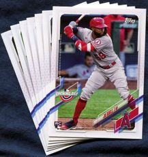 2021 Topps Opening Day Los Angeles Angels Baseball Cards Team Set