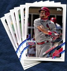 2021 Topps Opening Day St. Louis Cardinals Baseball Cards Team Set