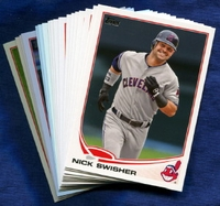 2013 Topps Cleveland Indians Baseball Cards Team Set
