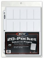 BCW Pro 20-Pocket Page 20 Pages Pack