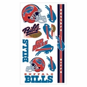 Buffalo Bills NFL Temporary Tattoos