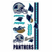 Carolina Panthers NFL Temporary Tattoos