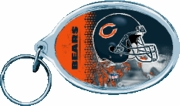 Chicago Bears NFL Acrylic Key Ring