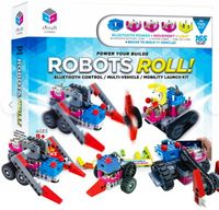 Circuit Cubes Robots Roll Building Block Bluetooth Control Multi-Vehicle Mobility Launch Kit