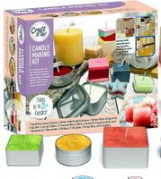 Craft it Up Candle Making All-Inclusive Kit w/ Silicone Molds