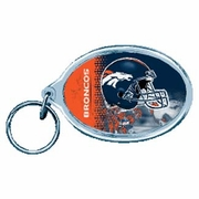 Denver Broncos NFL Acrylic Key Ring