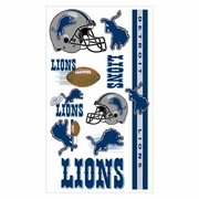 Detroit Lions NFL Temporary Tattoos