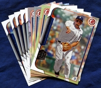 2015 Bowman & Prospects Detroit Tigers Baseball Card Team Set