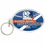 Indianapolis Colts Super Bowl Champs NFL Acrylic Key Ring