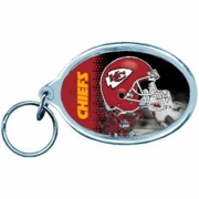 Kansas City Chiefs NFL Acrylic Key Ring