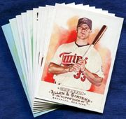 More Minnesota Twins Baseball Card Singles
