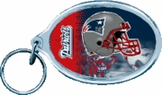 New England Patriots NFL Acrylic Key Ring